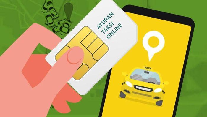 Foto: Ilustrasi fokus (bukan buat insert) MA Cabut Aturan Taksi Online (Fuad Hasim/detikcom)
