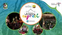 Pasar Kampoeng Expresi Banyuwangi Sajikan Atraksi Seni dan Kuliner