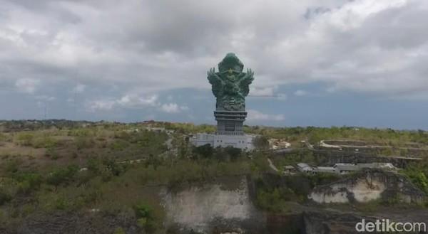 Peresmian patung GWK Bali ini dilakukan pada tanggal 22 September 2018 dan oleh Presiden Joko Widodo. GWS Bali merupakan karya seniman bernama I Nyoman Nuarta (Kurnia/detikTravel)