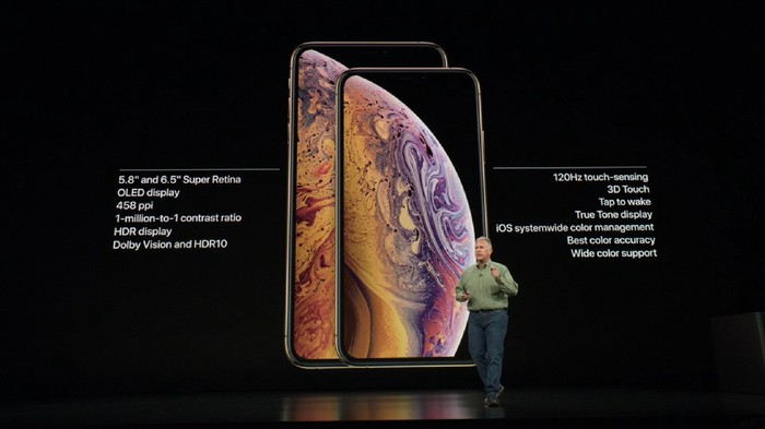 Apple rilis dua iPhone anyar, XS dan XS Max. Foto: Screenshot