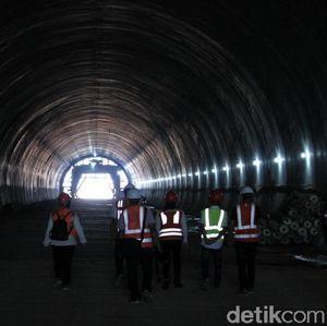 Top! Satu Terowongan Tol Cisumdawu Sudah Tembus Bukit