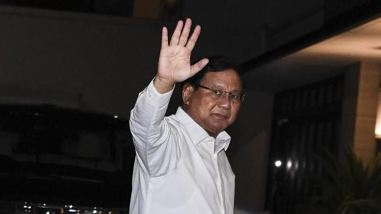 Prabowo Belum Tahu Arah Dukungan Yenny Wahid di Pilpres