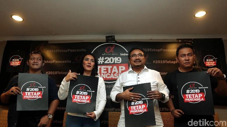 Dukung Jokowi, Tim Alpha Serukan 2019 Tetap Pancasila