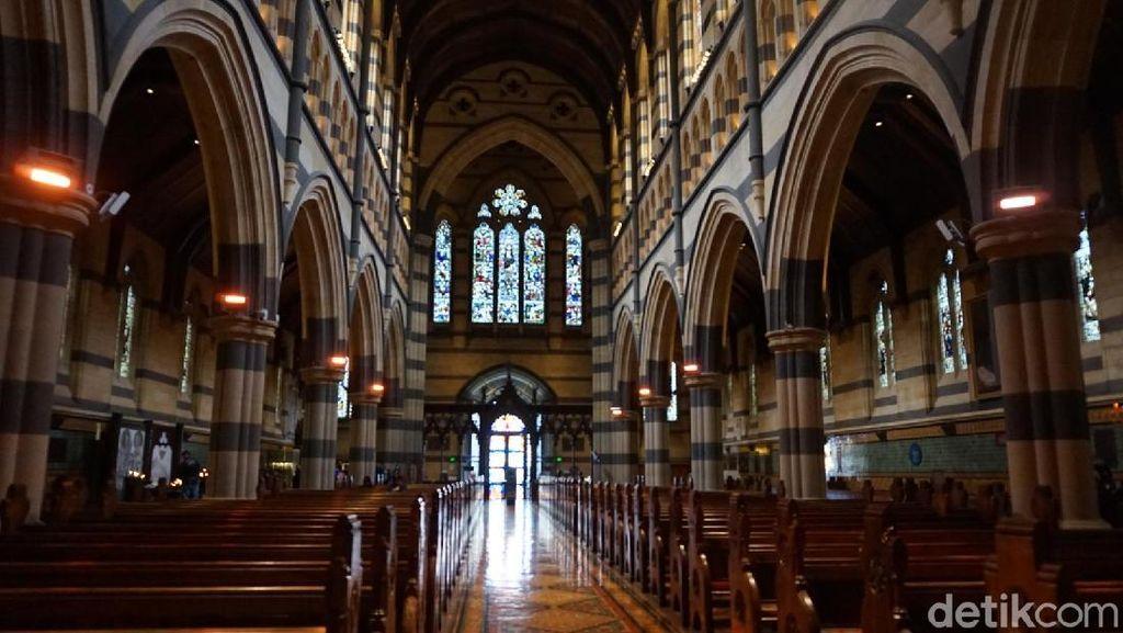 Gereja Cantik di Jantung Kota Melbourne