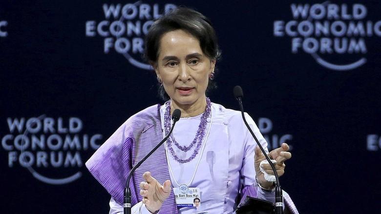 Wartawan Asing Peliput Rohingya Dibui 7 Tahun, Ini Kata Suu Kyi