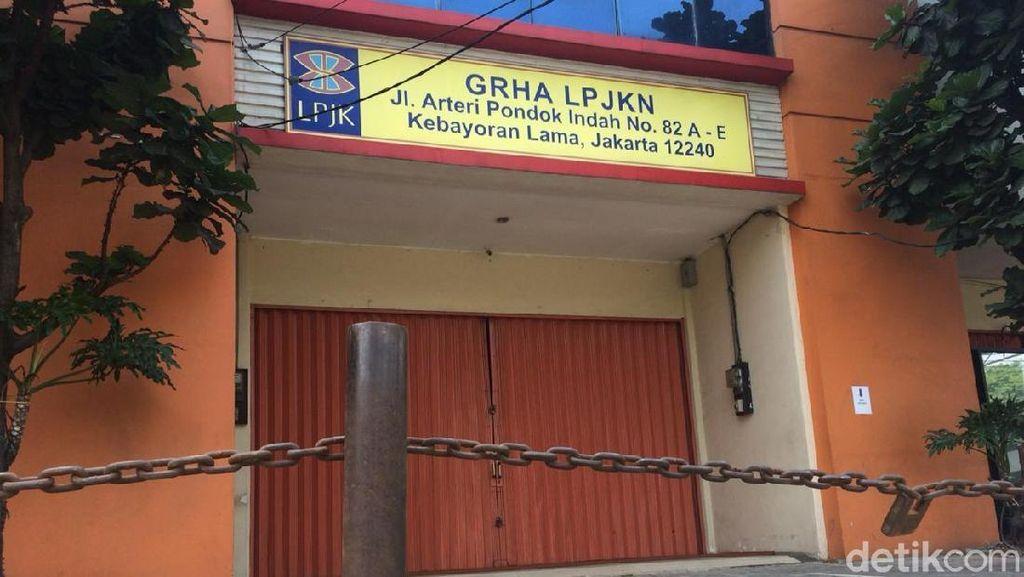Ubah Interior Gedung Tanpa Izin, Alasan Kantor LPJKN Ditutup