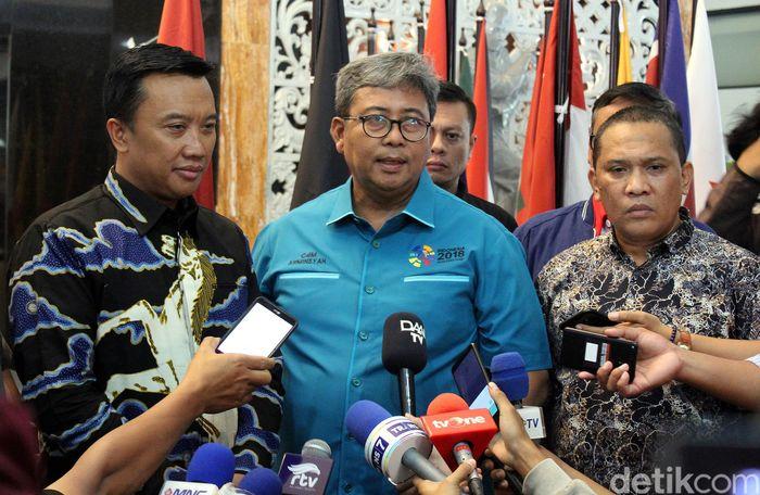 Hal itu disampaikan Menpora bersama Kepala Dinas Pariwisata Lombok Barat Ispan Junaidi di Kantor Kemenpora, Jakarta, Kamis (13/09/2018).