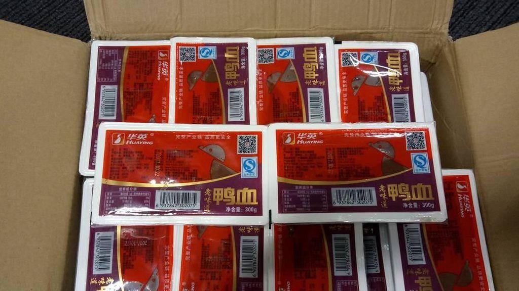 Jual Darah Bebek, Restoran China di Singapura Didenda S$ 8.000