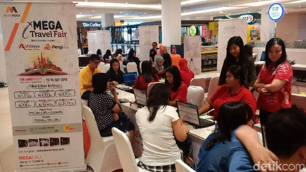 Diskon Tiket & Paket Wisata di Mega Travel Fair Semarang