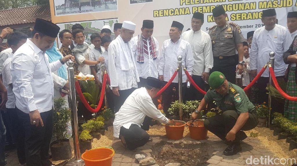 Sultan Banten Beri Saran soal Pembangunan Masjid Agung di Serang