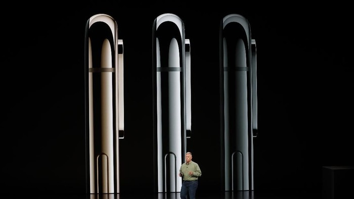 Strategi Apple menjual trio iPhone baru disebut meniru industri film (Foto: Stephen Lam/Reuters)