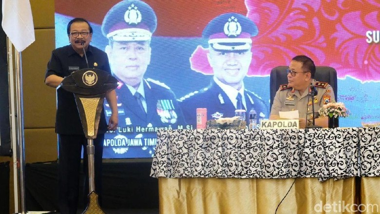 Kinerjanya Nomor Satu, Pakdhe Karwo Apresiasi Tim Saber Pungli Polda Jatim