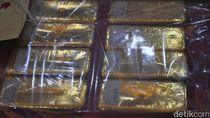 43 Emas Batangan Ilegal Senilai Rp 21 M Disita Polisi di Sulsel