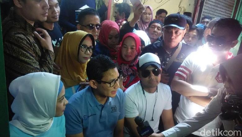 Sandiaga Lapor ke Prabowo Hasil Kunjungan ke Malang dan Bandung