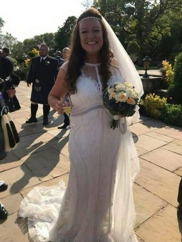 Rachel Seedall sukses turunkan berat badan karena ingin pakai gaun pernikahan yang diimpikannya