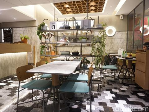 Area dining di Devon Senayan City.