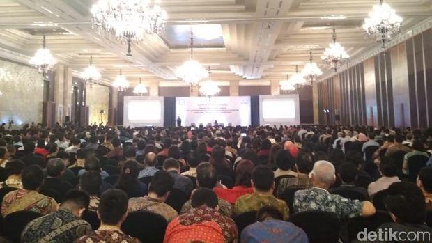Di Depan Ribuan Pengusaha, Sri Mulyani Jelaskan Ekonomi Global