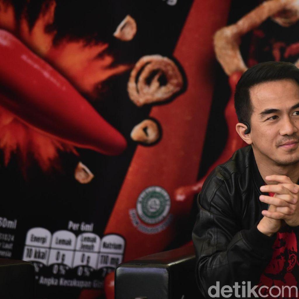 Tantangan Joe Taslim dan Tatjana Saphira Main Film Action Komedi
