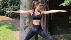 Hobinya yang gemar dance dan olahraga, jelas membuat perut si cantik Cinta Laura makin six pack dan ideal.