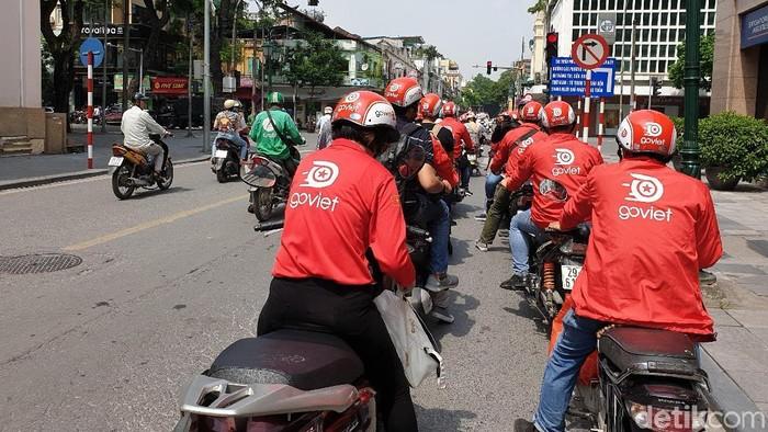 Driver Go-Viet. Foto: Adi Fida Rahman/detikINET