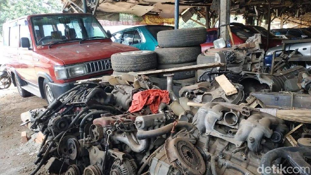 Mesin Corolla Paling Dicari dari Bangkai Mobil
