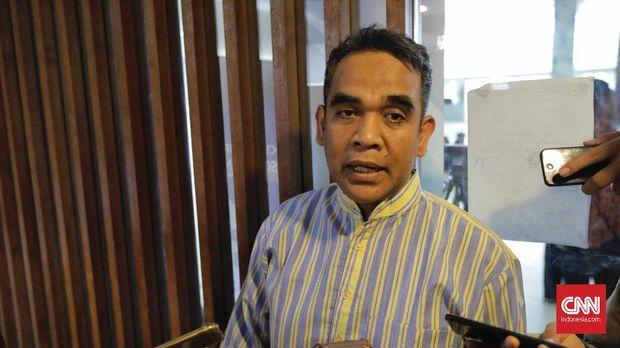 Sekjen Partai Gerindra Ahmad Muzani, di Jakarta, beberapa waktu lalu.