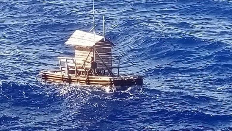 Foto: Kisah ajaib Aldi  yang hanyut dari Manado hingga ke Guam (dok. KJRI Osaka)