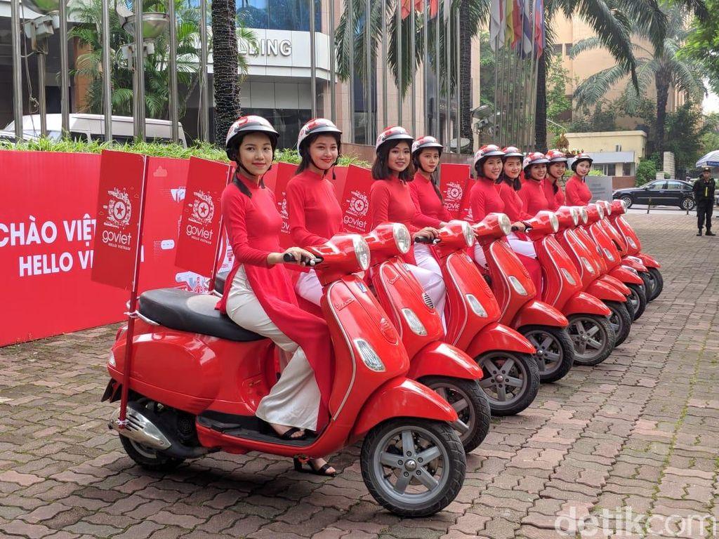 Go-Viet merupakan Go-Jek di Vietnam. Foto: Adi Fida Rahman/detikINET