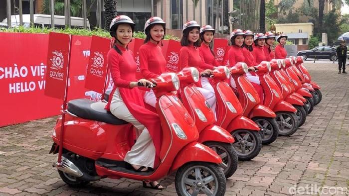 Aplikasi Go-Jek tak terintegrasi dengan Go-Viet. Foto: Adi Fida Rahman/detikINET