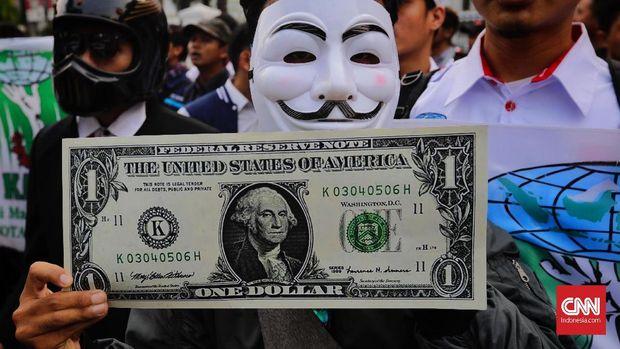Dolar Tembus Rp15 Ribu, Fadli Minta Pertemuan IMF Dibatalkan