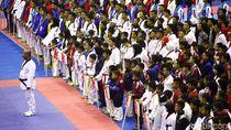 Potret Pembukaan Turnamen Taekwondo Kapolri Cup 2018
