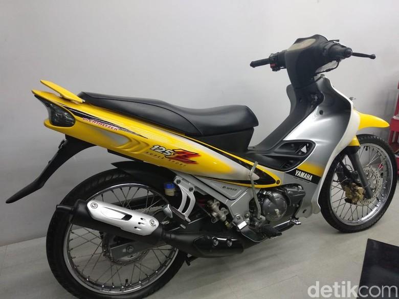 Motor Bebek 125cc Ini Ditawar Rp 50 Juta. Foto: Luthfi Anshori