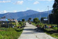 Jalan beton di Kampung Irai (Masaul/detikTravel)