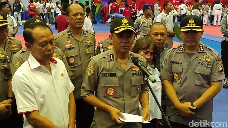 Turnamen Taekwondo Kapolri Cup 2018 Dibuka di GOR Popki Cibubur