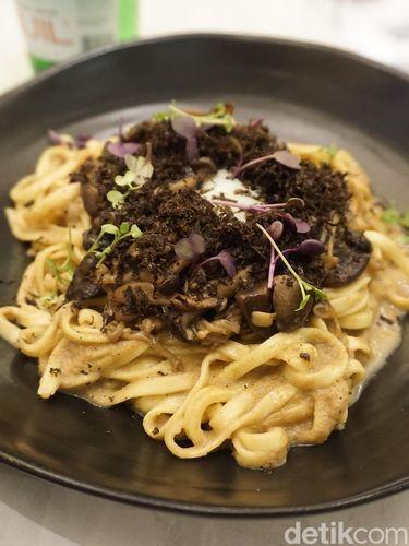 Triple Mushroom Noodle.