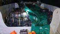 Kapal Berisi 1.200 Botol Miras Ilegal dari Singapura Ditangkap
