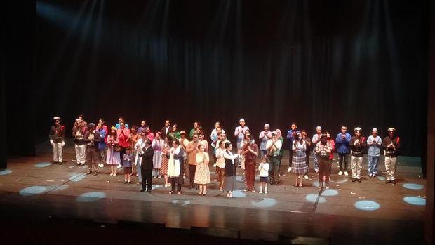 'Opera Ainun' Miliki Jiwa Ainun Saat Dipentaskan