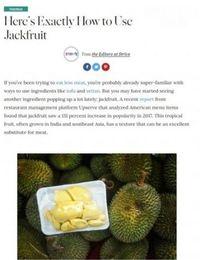 Waduh! Tak Bisa Bedakan Nangka dan Durian, Martha Stewart Dikritik Netizen