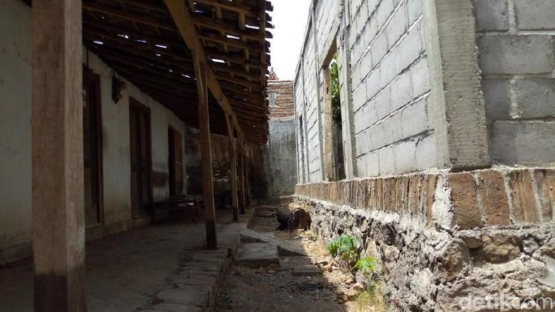 Tembok ini Diduga Jadi Pemicu Miseran Aniaya Tetangganya Hingga Tewas