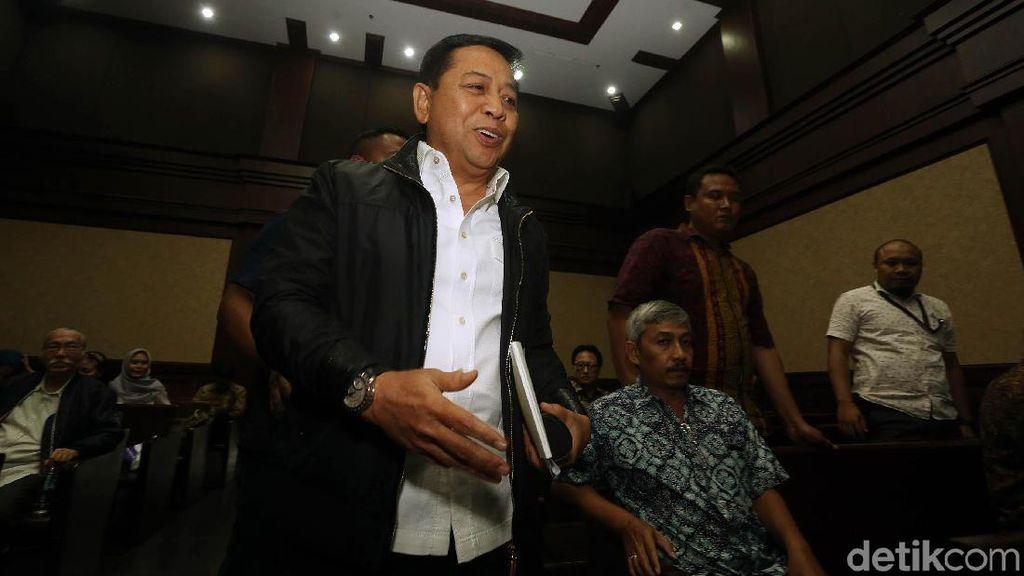 Setya Novanto Jadi Saksi untuk Ponakannya di Sidang Korupsi e-KTP