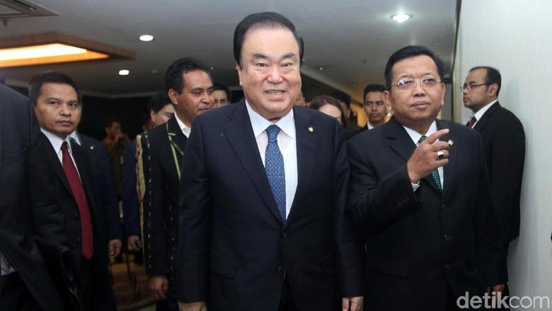 OSO Bertemu Ketua Parlemen Korea Selatan