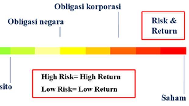 risk, return, investasi