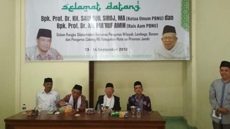 Maruf Amin Siap Debat Capres/Cawapres Berbahasa Inggris
