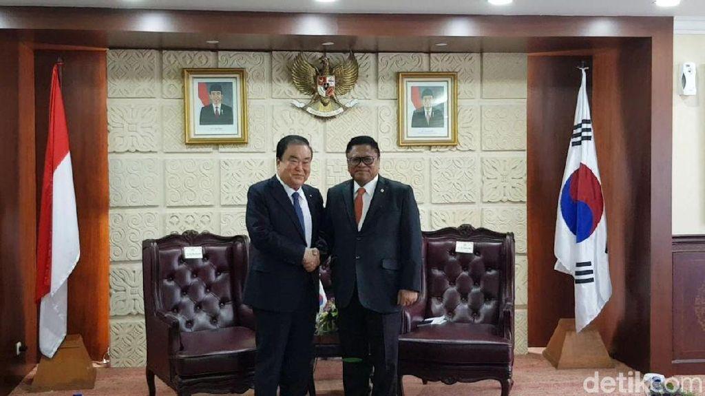 OSO Terima Kunjungan Ketua Parlemen Korsel