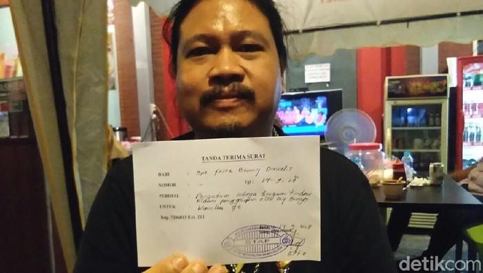 Laporan atas Roy Suryo ditolak. (Yuni Ayu Amida/detikcom)