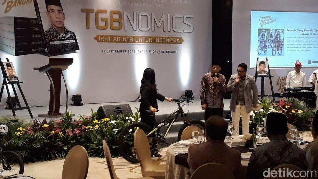 Dilelang untuk Lombok, Sepeda yang Pernah Dipakai Jokowi Laku Rp 1 M