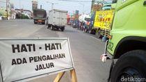 Jembatan Tanggulangin II Ditutup, Lalin Pantura Kudus-Demak Padat