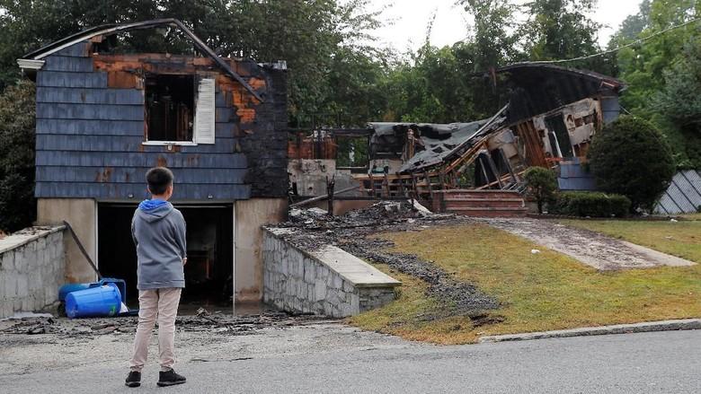 Ledakan Gas Guncang 3 Kota di AS, 1 Remaja Tewas
