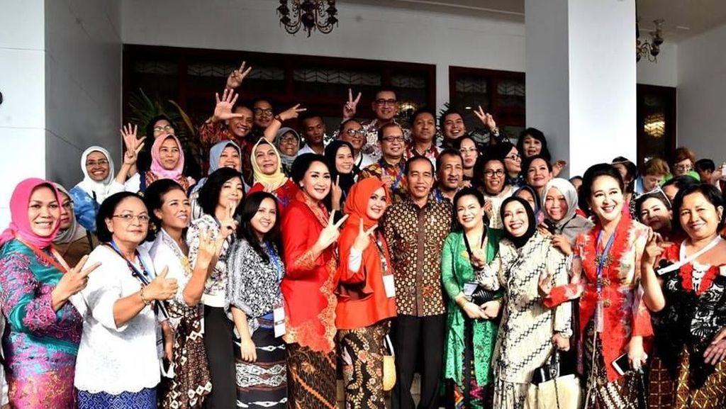 Jokowi: Wahai Perempuan Indonesia, Jadilah Ibu Bangsa