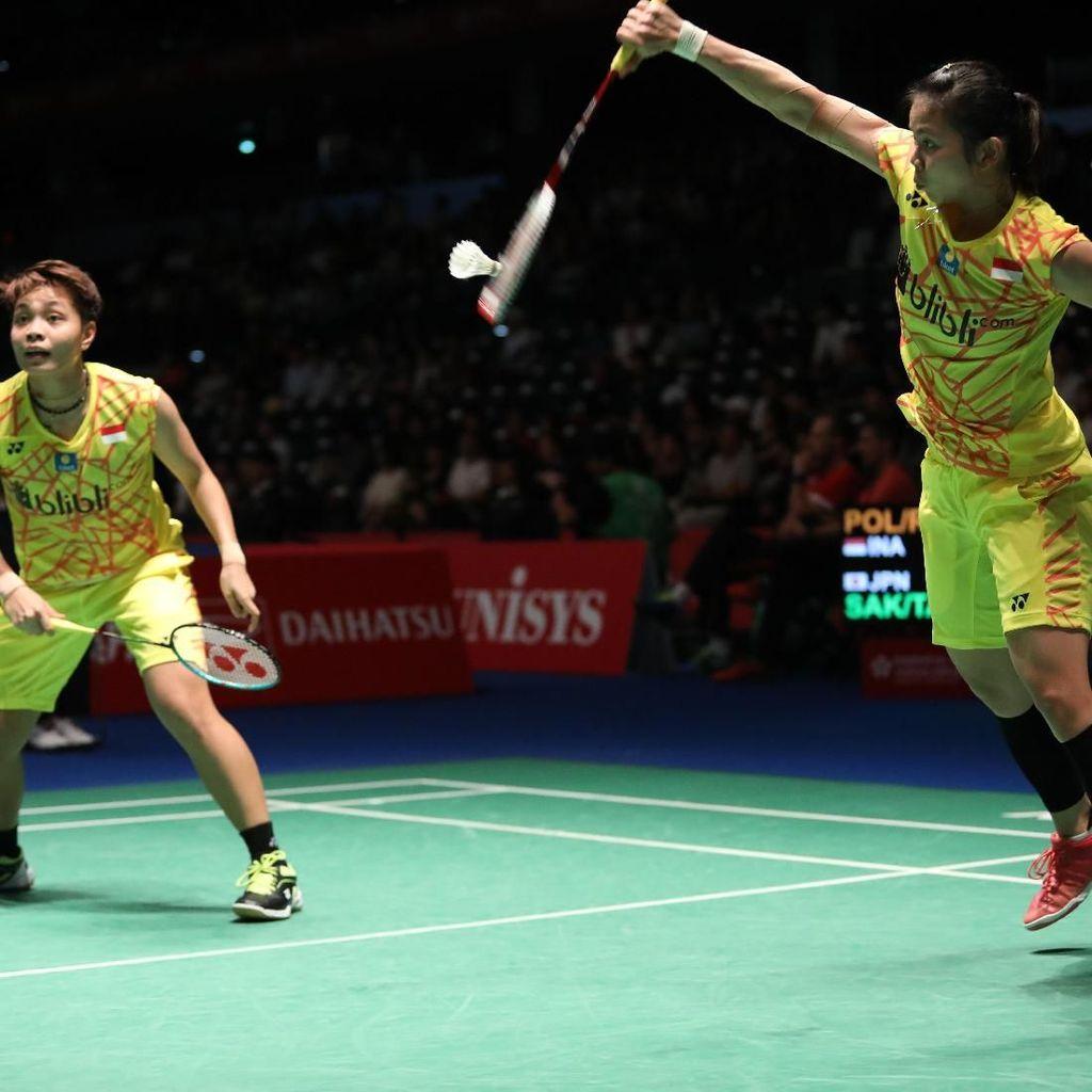Jepang Terbuka 2018: Greysia/Apriyani Kandas di Semifinal